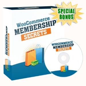 Special Bonuses - April 2020 - WooCommerce Membership Secrets Video Series Pack