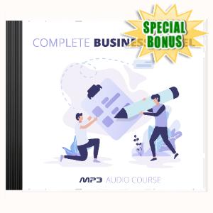 Special Bonuses - April 2020 - Complete Business Model Audio Pack