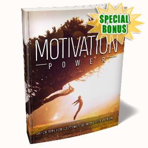 Special Bonuses - April 2020 - Motivation Power Pack