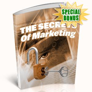 Special Bonuses - April 2020 - The Secrets Of Marketing