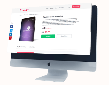 AcademyPro Features - List & Sell Your Courses On Your Own Academy Marketplace.