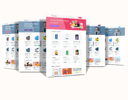 AcademyPro Features - Beautifully Designed Academy Website with Multiple Color Themes