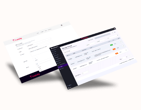 AcademyPro Features - Built-In Ticketing System To Provide Support To Students