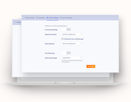 Dropshiply Features - Inventory Watchdog