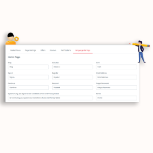 MarketPresso V2 Features - Languages Translation