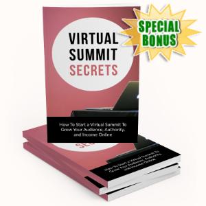 Special Bonuses - May 2020 - Virtual Summit Secrets Pack