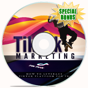 Special Bonuses - May 2020 - Tik Tok Marketing Video Upgrade Pack