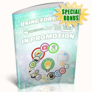 Special Bonuses - May 2020 - Using