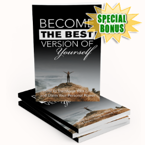 Special Bonuses - May 2020 - Best Version Of Yourself Pack