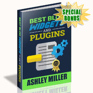 Special Bonuses - May 2020 - Best Blog Widgets And Plugins