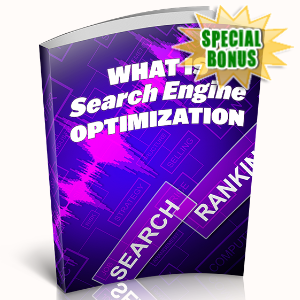 Special Bonuses - May 2020 - What Is Search Engine Optimization