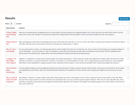 ContentPress Features - Generate 100% Unique Content With 1 CLICK