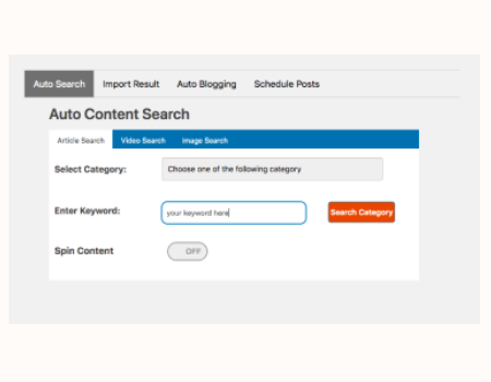 ContentPress Features - Unique Content That You Can Then Publish On Your Site Or Sell To Clients