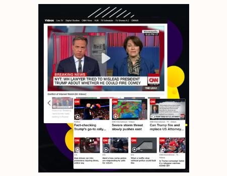 News Builder V2 Features - Video News