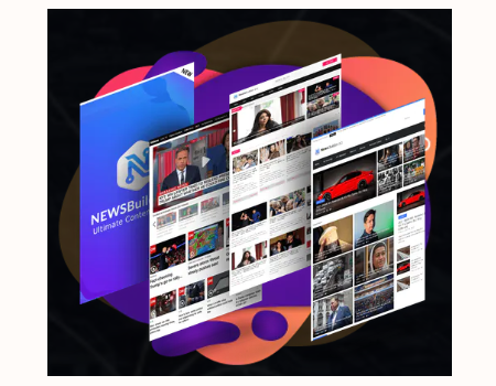 News Builder V2 Features - Professional Themes