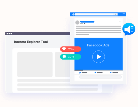SociCake Agency Features - Interest Explorer