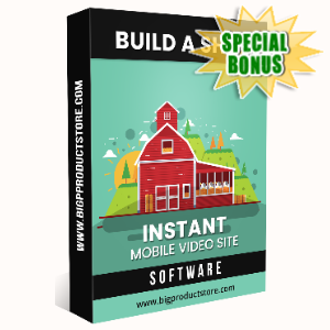Special Bonuses - June 2020 - Build A Shed Instant Mobile Video Site Software