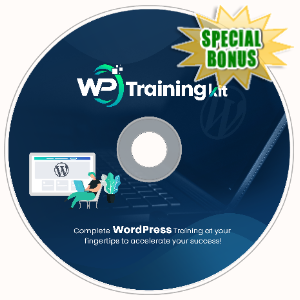 Special Bonuses - June 2020 - WP Training Kit Video Upgrade Pack