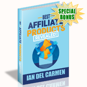Special Bonuses - June 2020 - Best Affiliate Products Revealed