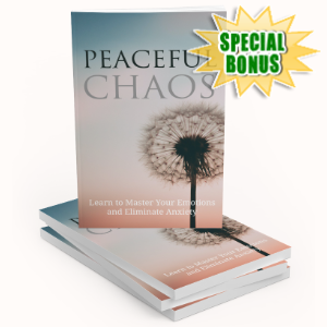 Special Bonuses - June 2020 - Peaceful Chaos Pack