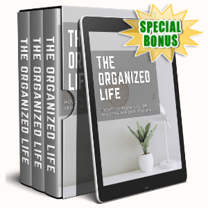 Special Bonuses - June 2020 - The Organized Life Video Upgrade Pack