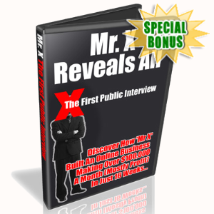 Special Bonuses - June 2020 - Mr X The First Public Interview Audio Pack