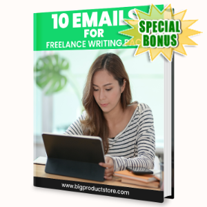 Special Bonuses - June 2020 - 10 Emails For Freelance Writing Pack