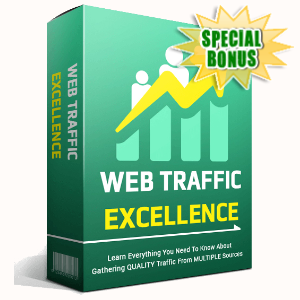 Special Bonuses - June 2020 - Web Traffic Excellence Video Series Pack