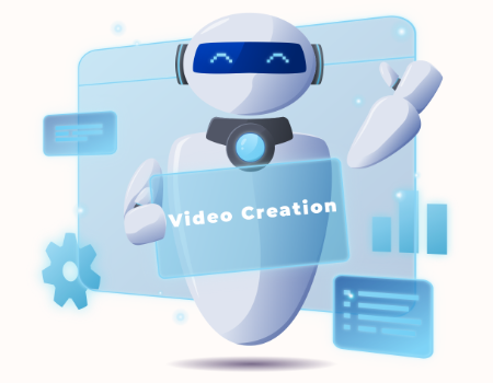 TikVideoCyborg Features - 100% Automatic Video Creation - NO EDITING, NO RECORDING